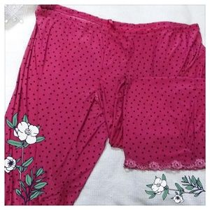 Secret Treasures Polkadot pj Bottoms